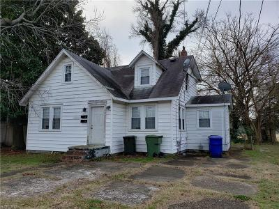 Norfolk Multi Family Home New Listing: 309 Fort Worth Ave