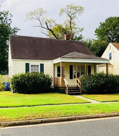 Portsmouth Residential For Sale: 3401 Scott St