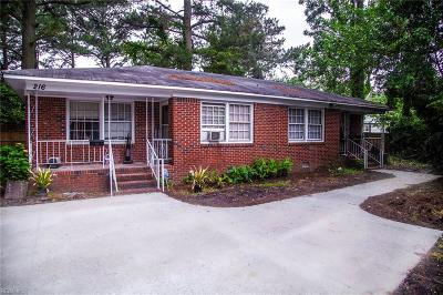 Norfolk Multi Family Home For Sale: 216 Dulwich Cres
