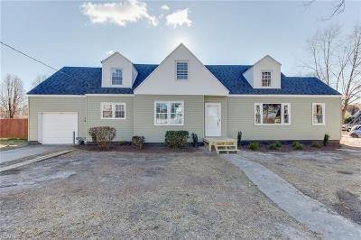 Norfolk Multi Family Home For Sale: 4522 Bankhead Ave