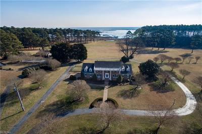Northampton County, Accomack County Residential For Sale: 6370 Glenair Ln