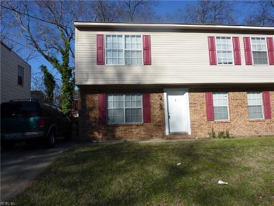 Norfolk Multi Family Home Under Contract: 858 W 37th St