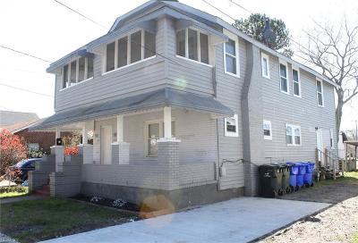Norfolk VA Multi Family Home For Sale: $239,900