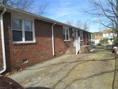 Norfolk Multi Family Home Under Contract: 1211 E Balview Ave