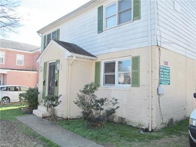 Norfolk Multi Family Home New Listing: 1611 Manson St