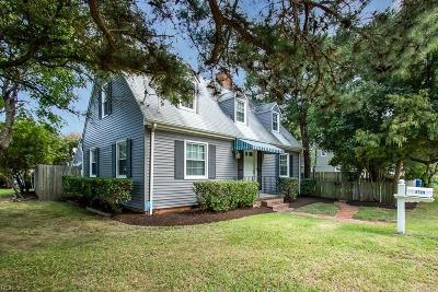 Virginia Beach Residential For Sale: 8709 Atlantic Ave