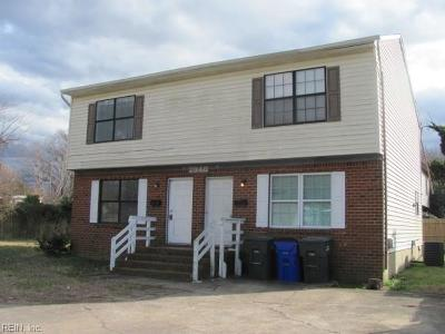 Norfolk Multi Family Home For Sale: 7948 Woodall Rd