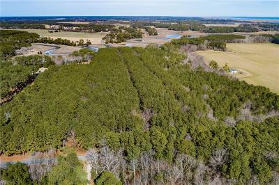 Northampton County, Accomack County Land/Farm For Sale: 88-1 Baylys Neck Rd