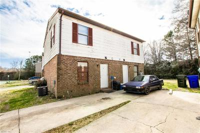Norfolk VA Multi Family Home New Listing: $195,000