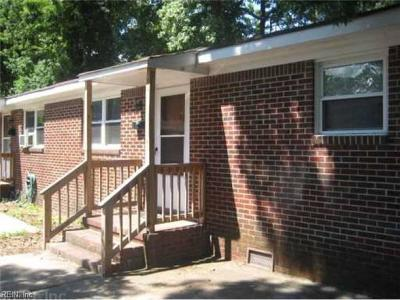Norfolk VA Multi Family Home New Listing: $169,900