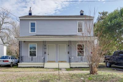 Portsmouth Multi Family Home Under Contract: 2003 Lansing Ave