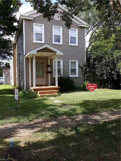 South Norfolk Multi Family Home Under Contract: 1101 Park Ave