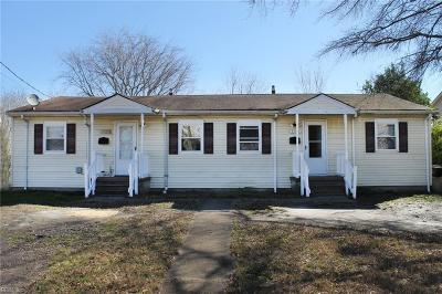 Portsmouth Multi Family Home For Sale: 1437 Lasalle Ave