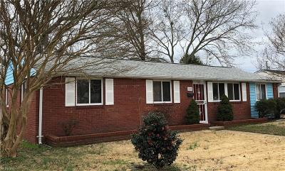 Hampton VA Residential New Listing: $149,000