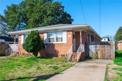 Norfolk Multi Family Home For Sale: 2409 Cromwell & 2411 Rd