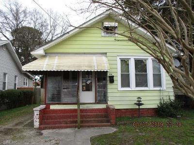 Hampton VA Residential New Listing: $39,900