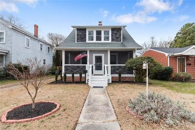 Hampton VA Residential New Listing: $190,000