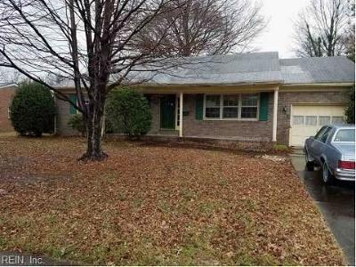 Hampton VA Residential New Listing: $121,000
