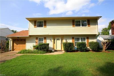 Hampton VA Residential New Listing: $220,000