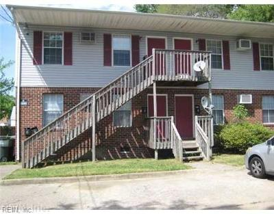 Norfolk Multi Family Home For Sale: 318 E Little Creek Rd