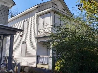 Norfolk VA Multi Family Home For Sale: $99,000