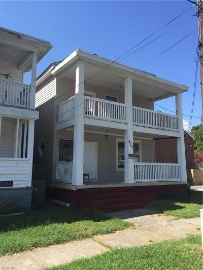 Norfolk VA Multi Family Home For Sale: $189,000