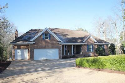 Williamsburg Residential For Sale: 102 Edward Wyatt Dr