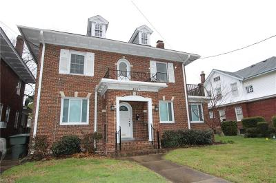 Norfolk VA Multi Family Home For Sale: $375,000