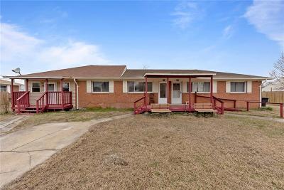 Virginia Beach Multi Family Home For Sale: 920 Schumann Dr