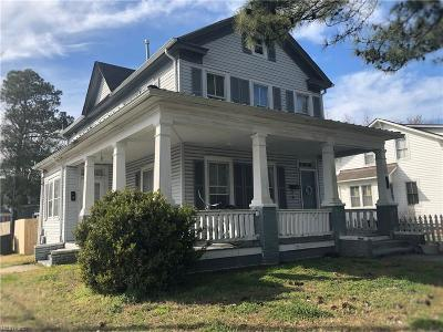 Portsmouth Multi Family Home Under Contract: 656 Florida Ave