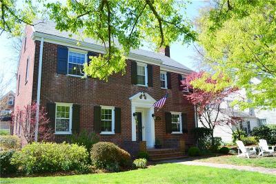 Norfolk Residential For Sale: 1001 Baldwin Ave