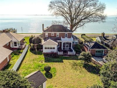 Hampton Residential For Sale: 1015 Chesapeake Ave