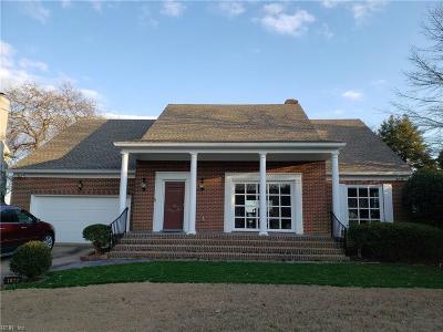 Hampton Residential For Sale: 4022 Chesapeake Ave