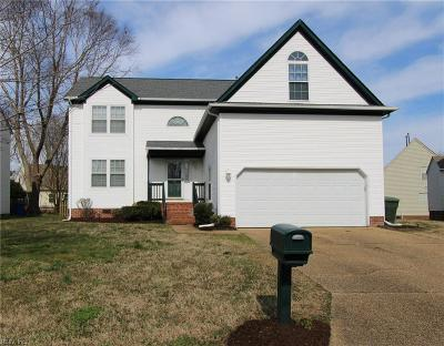Newport News Residential New Listing: 110 White Stone Ct