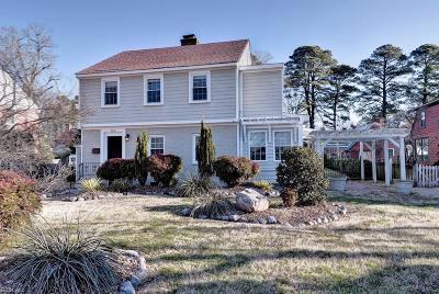 Newport News Residential For Sale: 802 River Rd