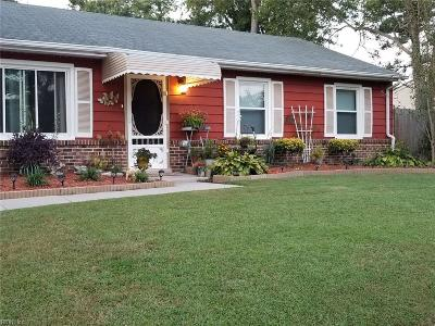 Chesapeake Residential New Listing: 3121 Woodbaugh Dr