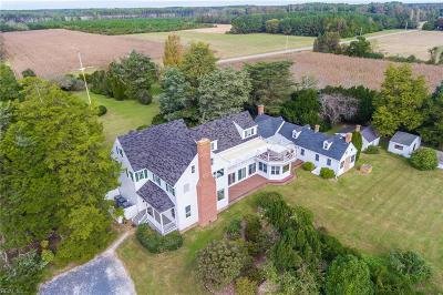 Northampton County, Accomack County Residential New Listing: 33457 Bradfords Neck Rd