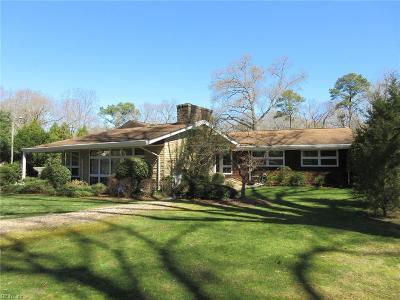 Newport News Residential For Sale: 814 Riverside Dr