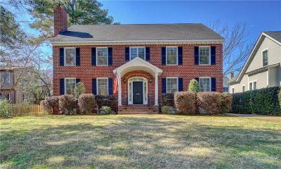 Norfolk Residential For Sale: 6125 Powhatan Ave