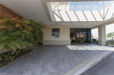 Norfolk Residential For Sale: 220 W Brambleton Ave #307