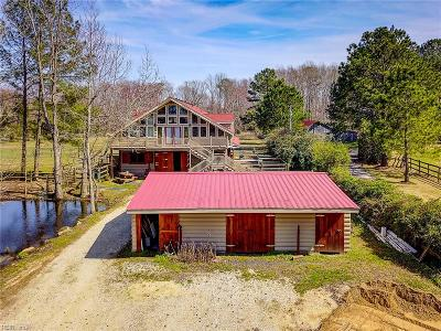 Virginia Beach Residential New Listing: 4166 Charity Neck Rd