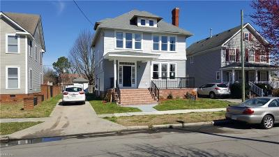Norfolk Residential New Listing: 604 W 34th St