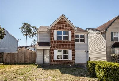 Newport News Residential New Listing: 359 Pear Ridge Cir