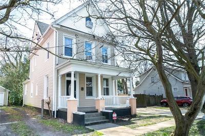 Norfolk Residential New Listing: 3114 Vimy Ridge Ave
