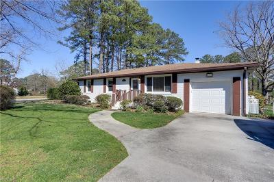 Norfolk Residential New Listing: 5504 Levine Ct