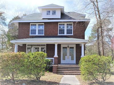 Norfolk Residential For Sale: 1502 Lafayette Blvd