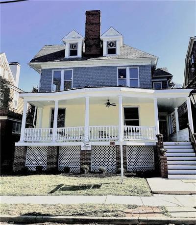 Norfolk Residential New Listing: 528 Redgate Ave