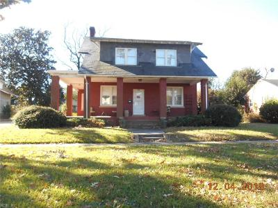 Newport News Multi Family Home Under Contract: 21 Park Ave