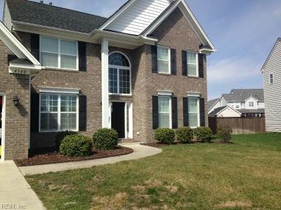 Virginia Beach Residential New Listing: 4140 Bridle Way