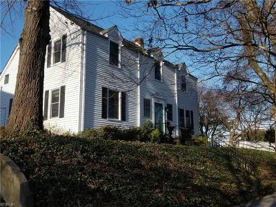 Norfolk Residential New Listing: 741 Pennsylvania Ave